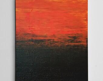Samurai Sky - Abstract Art