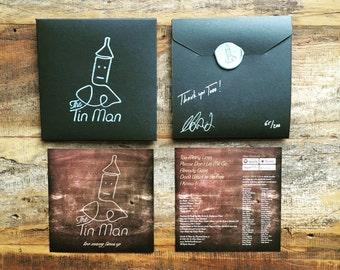 "Handmade CD - The Tin Man ""Too Many Lines EP"""