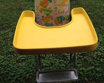 Colorful Vintage Highchair