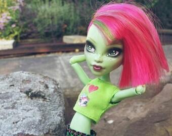 Custom Monster high Venus doll
