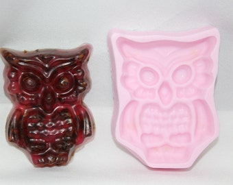 Homemade Owl Soaps (Set of 2)