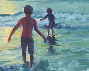 "Ocean Boys 8""x10""& 11""x14"" fine art print"