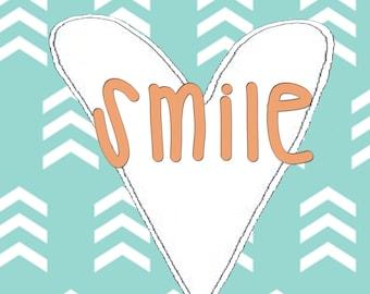 Smile printable