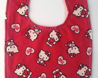 Hello Kitty Toddler Bib