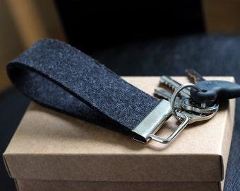Felt key holder, felt key chain