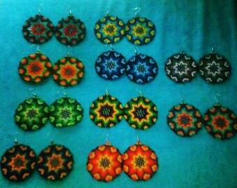 Ecuadorian Beaded Earrings