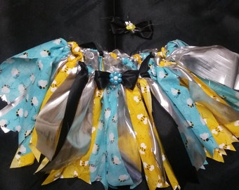 Busy Bee rag skirt