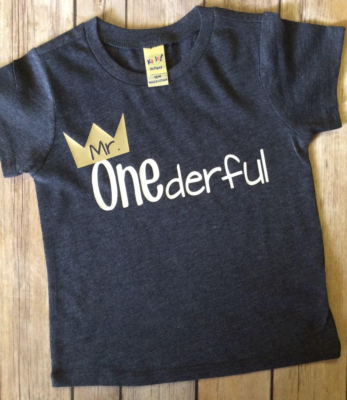 1st Birthday Boy T Shirt