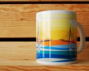 CUP COFFEE BRIDGE