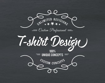 T-Shirt Design, Custom T-Shirt Design, T-Shirt Gift Family, Friends, Company,Hand Lettered, Silhouette, Calligraphy, Mom T-shirt Design