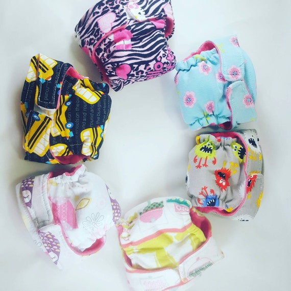 Waterproof baby Alive doll cloth diapers more SAVE MORE