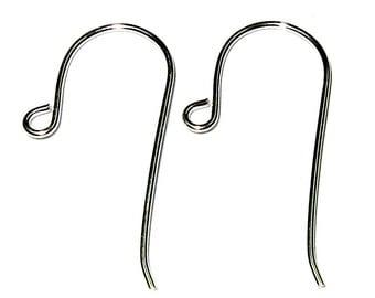 925 Real Sterling Silver Earrings Hooks