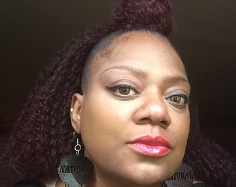 Natural Hair Earrings