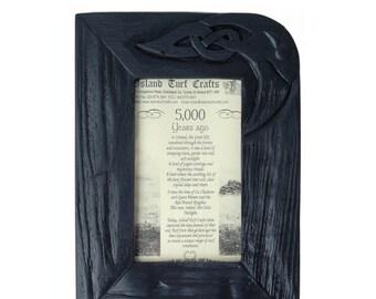 """Bog Oak Picture Frame (9"""" x 7"""") [BK7]"""
