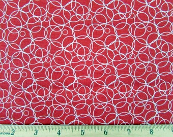 Salute to Summer Red Fabric From Quilting Treasuresh