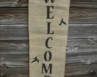 Hummingbird Welcome Banner