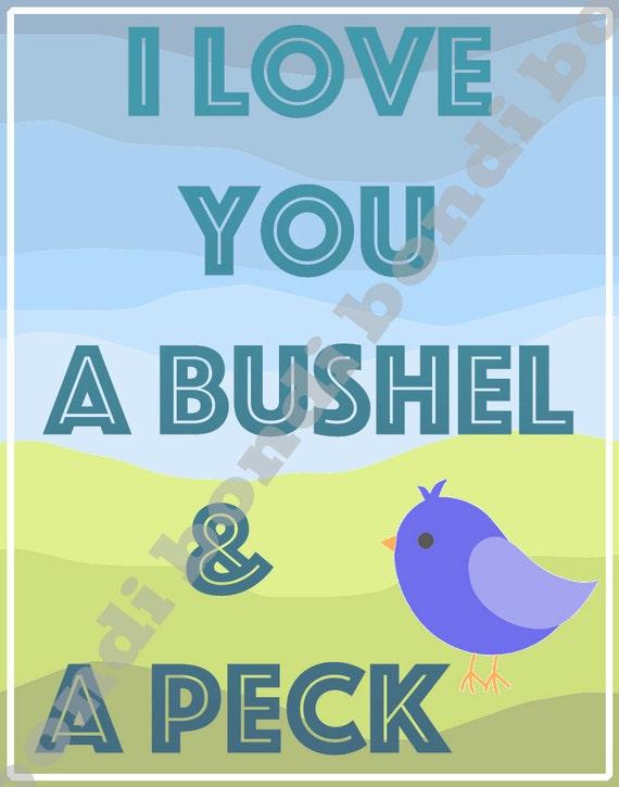 Bushel and a Peck Lyrics - Guys and Dolls musical
