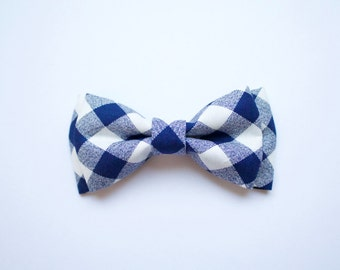 baby boy, toddler, navy blue checked bowtie