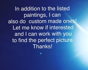 Custom Canvas Paintings