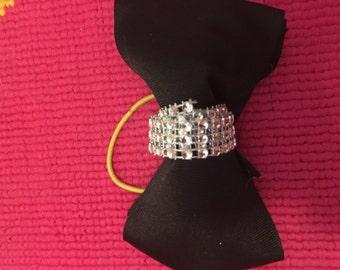 elegant black bow tie bow!!!