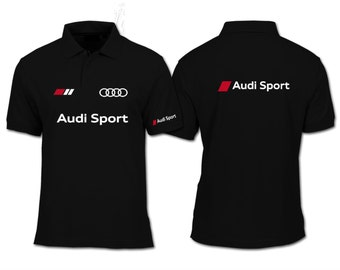 Audi Sport Polo shirt all colors all sizes Shipping free accept returns