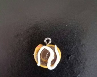 Polymer Clay Cinnamon Roll