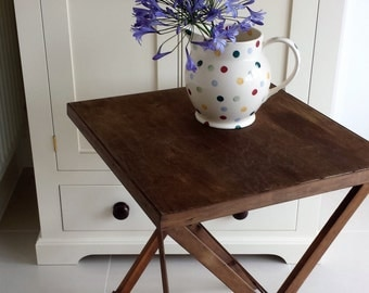 Vintage Folding Card/Games Table