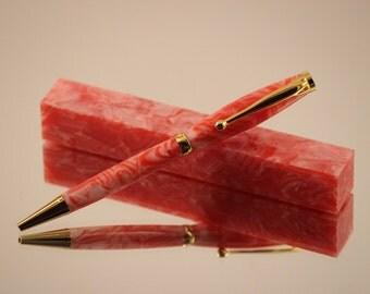 Cherry Berry Acrylic Pen