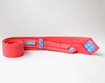Cotton Candy Kush!Hand-made necktie. 100% Organic & eco-friendly. HEMP/blend. Twill necktie. Ideal for Weddings. Groomsman!h