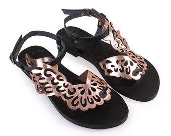 Althaia-Women Leather Sandals