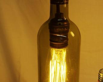 Vintage/Reclaimed Wine Bottle Chandelier