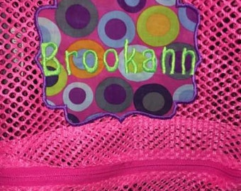 Custom made bookbags