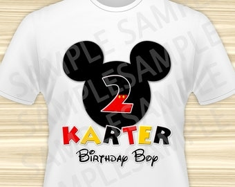 Mickey Mouse Iron On. Mickey Mouse Birthday Iron On Transfer. Mickey Mouse Birthday Shirt. Mickey Mouse Party. DIGITAL FILE.