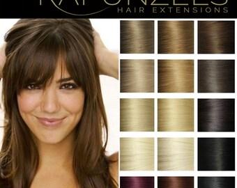 """18"""" micro loop, easy loop, micro link hair extensions, human remy hair 25 strands 1 gram - Choose colour"""
