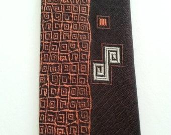 Vintage 1960's Skinny Necktie