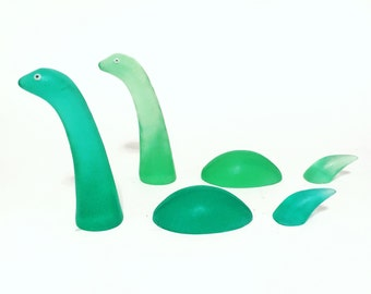 Nessie Soap - Handmade Loch Ness Monster set of 3 unscented soaps