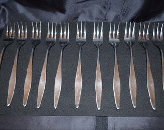 Eldan Shrimp Forks Stainless Steel Japan