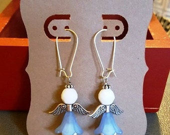 Angel Earrings - sky