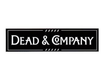 """Dead & Company 2017 Sticker - 8""""Wide"""