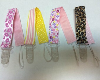 Girl Pacifier Holders