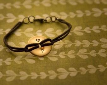 Hammered Significant Other Bracelet
