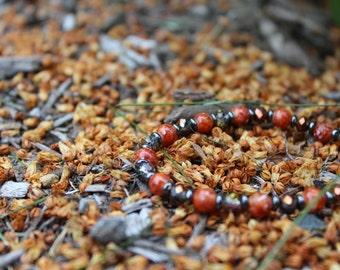 Rusty Orange Bracelet