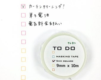 TO-DO Washi Tape <crayon color>