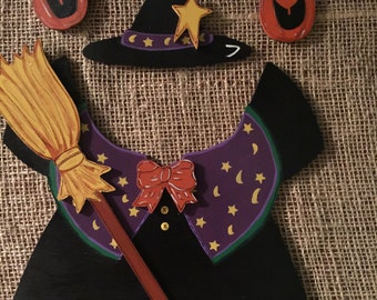 Witch Outfit - Interchangeable Wood Outfit