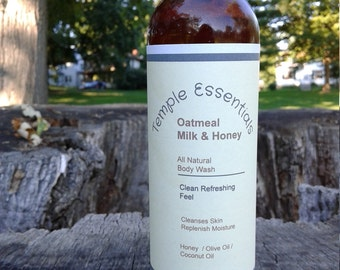 All Natural Oatmeal Milk and Honey Body Wash