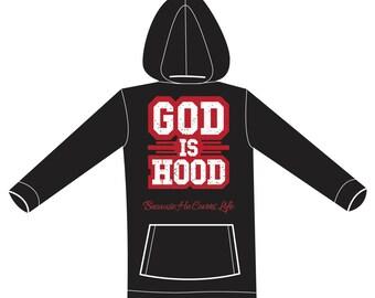 God is Hood Hoodie