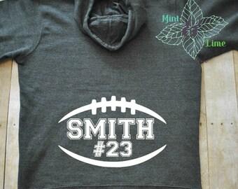 Personalization For Football Mom Sweatshirt