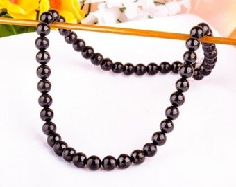 Shungite  Stone Top Quality SHUNGITE NECKLACE - 500mm