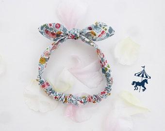 Headband baby / child porcelain liberty