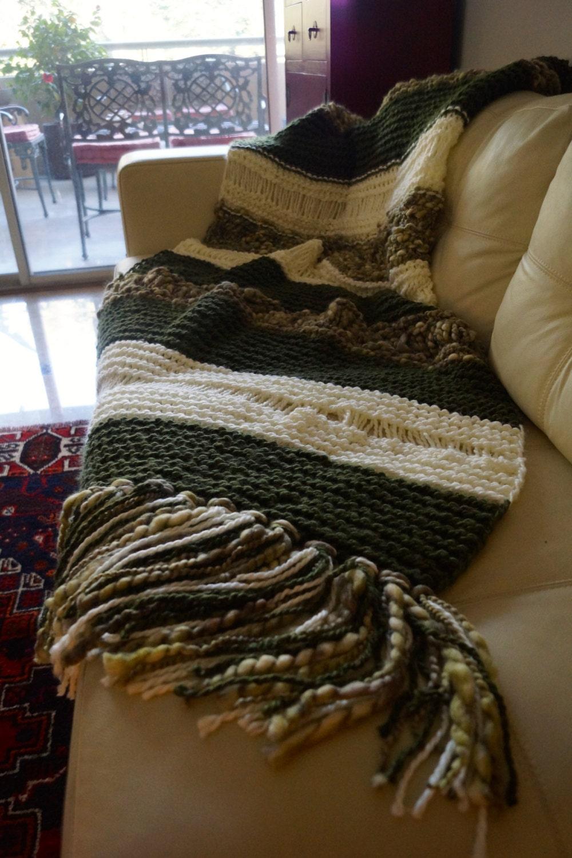 Manta lana de oveja pie de cama grande para super king - Mantas pie de cama ...